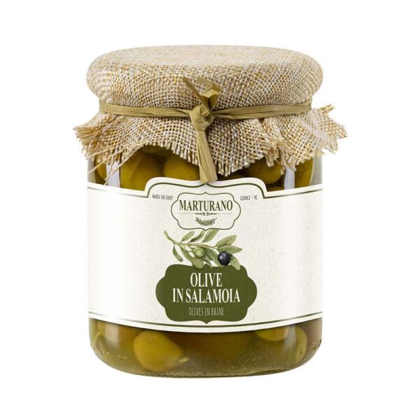 Olive Verdi in Salamoia - gr 500